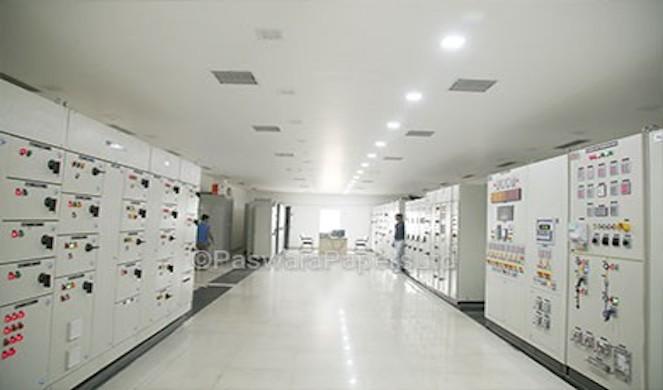 Panel Control room