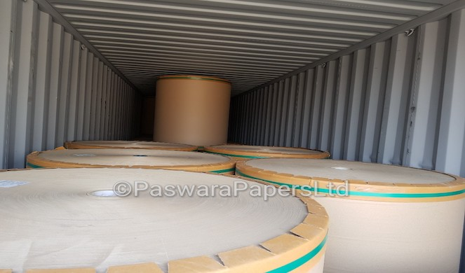 Kraft Paper ready for export