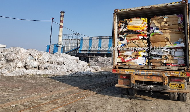 US imported Waste Paper