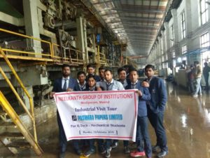 Neelkanth Group of Institutions Industrial's Visit